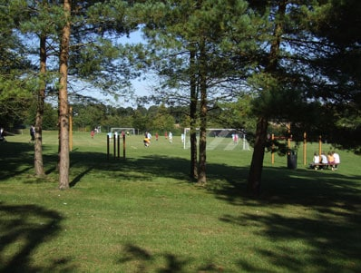 Football at Eversley Park