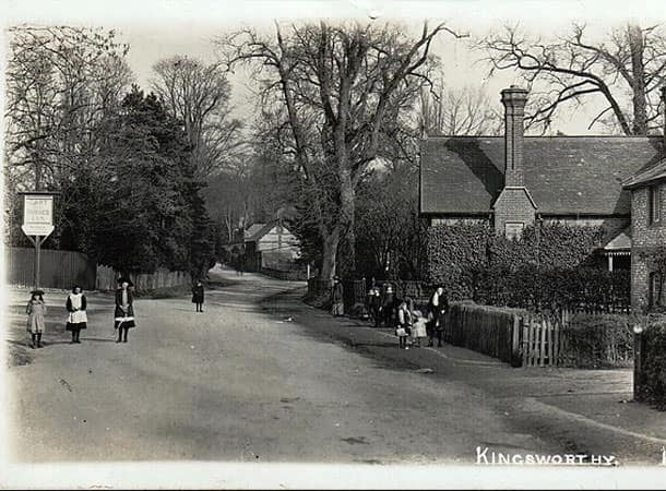 London Road Kings Worthy Circa 1900